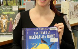 Ashleigh Skinner with 'The Tales of Beedle the Bard