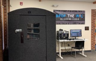 Drop the Mic Studio at P.D. Brown