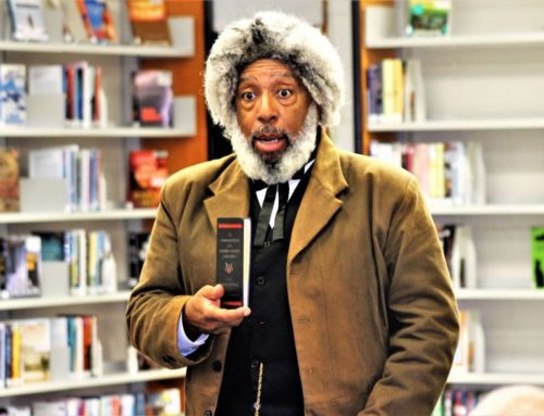 Frederick Douglass Visits the Library