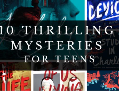 CCPL Staff Picks–10 Thrilling Mysteries for Teens