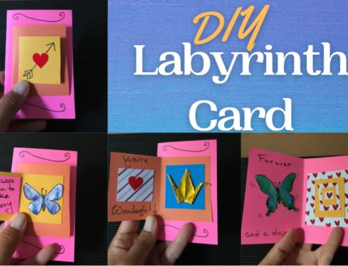 DIY Labyrinth Card