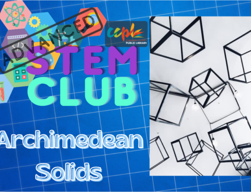 Advanced STEM Club: Archimedean Solids