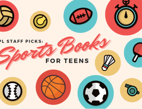 CCPL Staff Picks: Sports Books for Teens