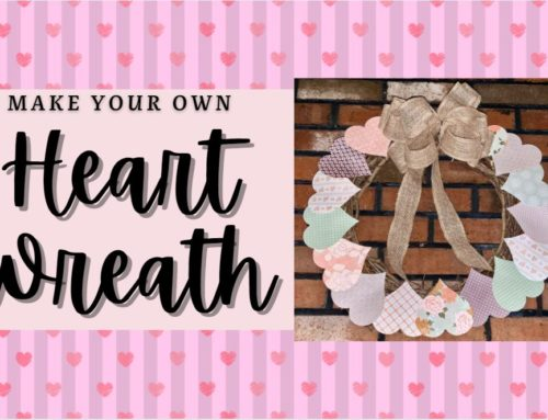 Make Your Own Heart Wreath