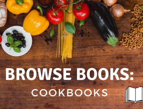 Book Browse: Cookbooks!