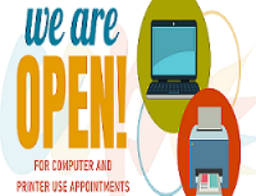Charles County Opens Three Libraries for Computer Use by Appointment