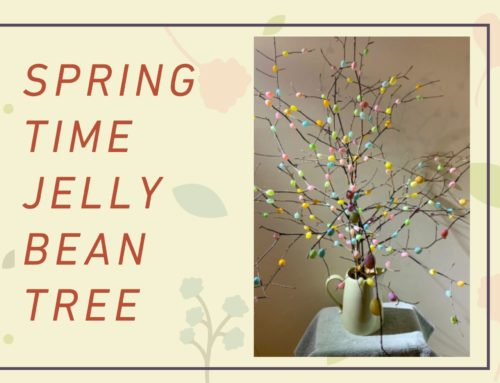 Springtime Jelly Bean Crafts