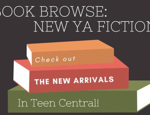 Book Browse: New YA Fiction