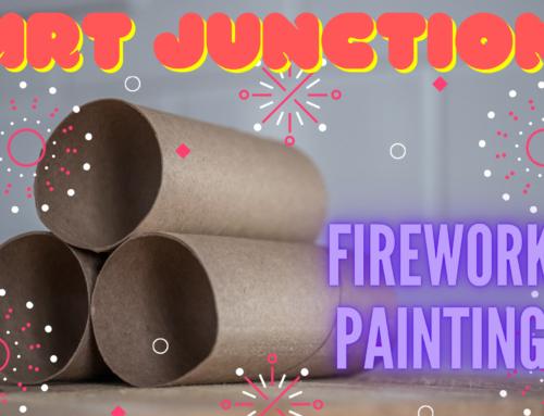 Art Junction- Firework Painting