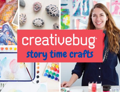 Creativebug – Make a craft and a story