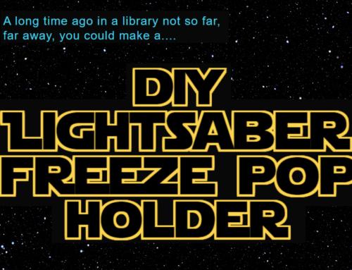 Lightsaber Freeze Pop Holder