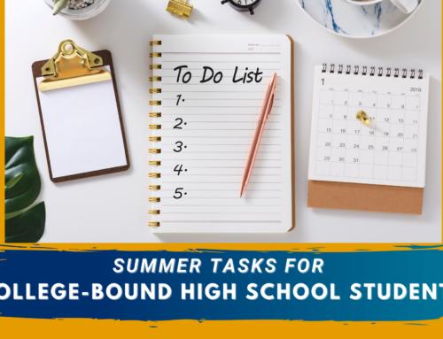 Summer Tasks for College-Bound High School Students