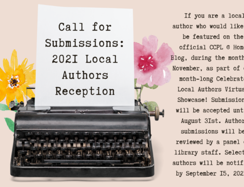 Local Author Reception: Call for Submissions