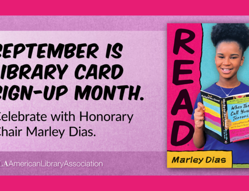 September is National Library Card Sign-Up Month!