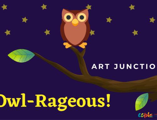 Art Junction: Owl-Rageous!