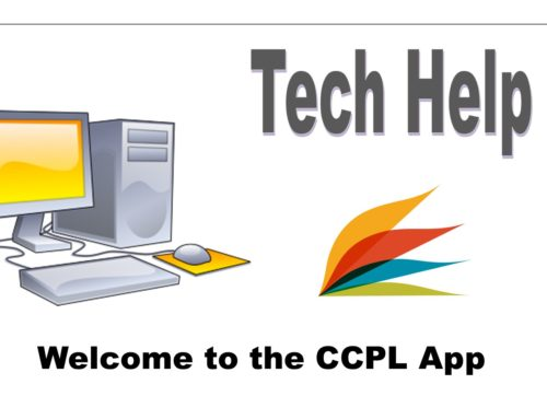 Welcome to the CCPL App