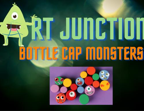 Art Junction: Bottle Cap Monsters