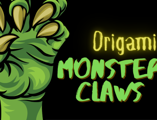 Origami Monster Claws